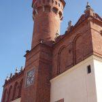 Ratusz w Tarnowie znajdujący się w pobliżu Hotelu Gal